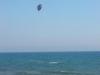 Acrobazie da kitesurfer