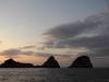 Gli isolotti Li Galli all'alba
