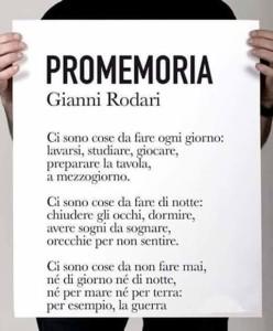 Promemoria Rodari